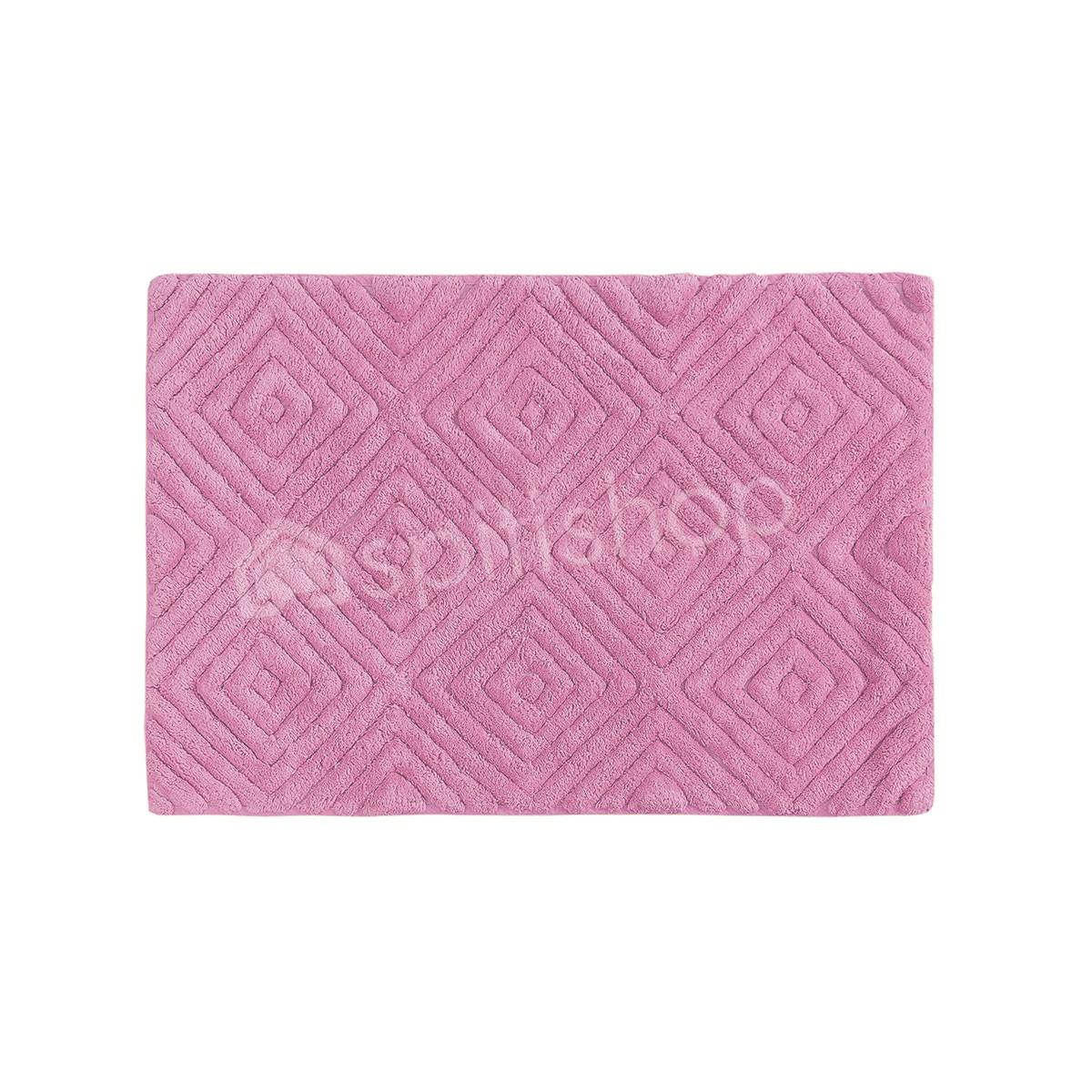 Πατάκι Μπάνιου (50x80) Palamaiki Diamond Rose