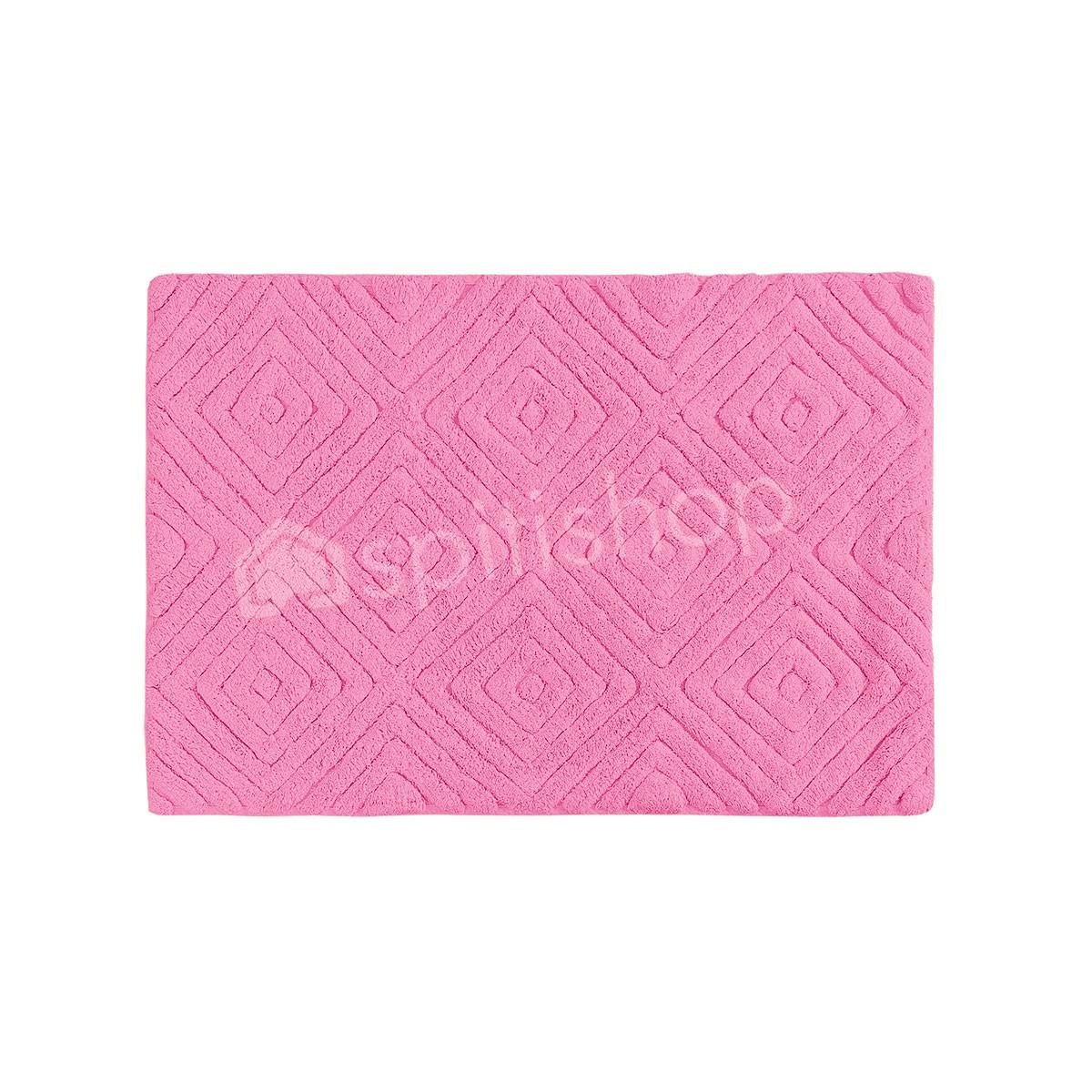 Πατάκι Μπάνιου (50×80) Palamaiki Diamond Pink