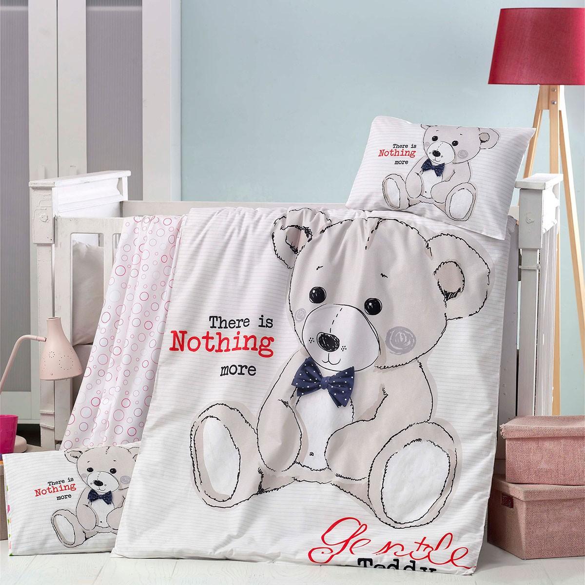 Σετ Κούνιας 5τμχ Palamaiki Welcome Baby Teddy