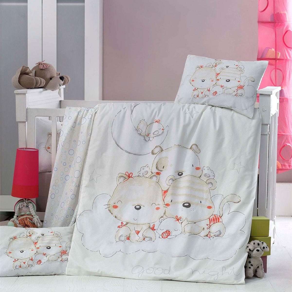 Σετ Κούνιας 5τμχ Palamaiki Welcome Baby Goodnight