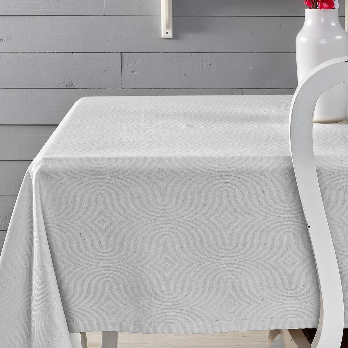 Πετσέτες Φαγητού (Σετ 4τμχ) Palamaiki Sally White 59871