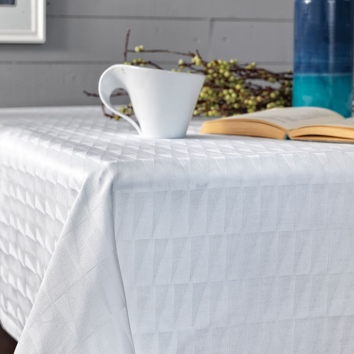 Πετσέτες Φαγητού (Σετ 4τμχ) Palamaiki Optic White 59873