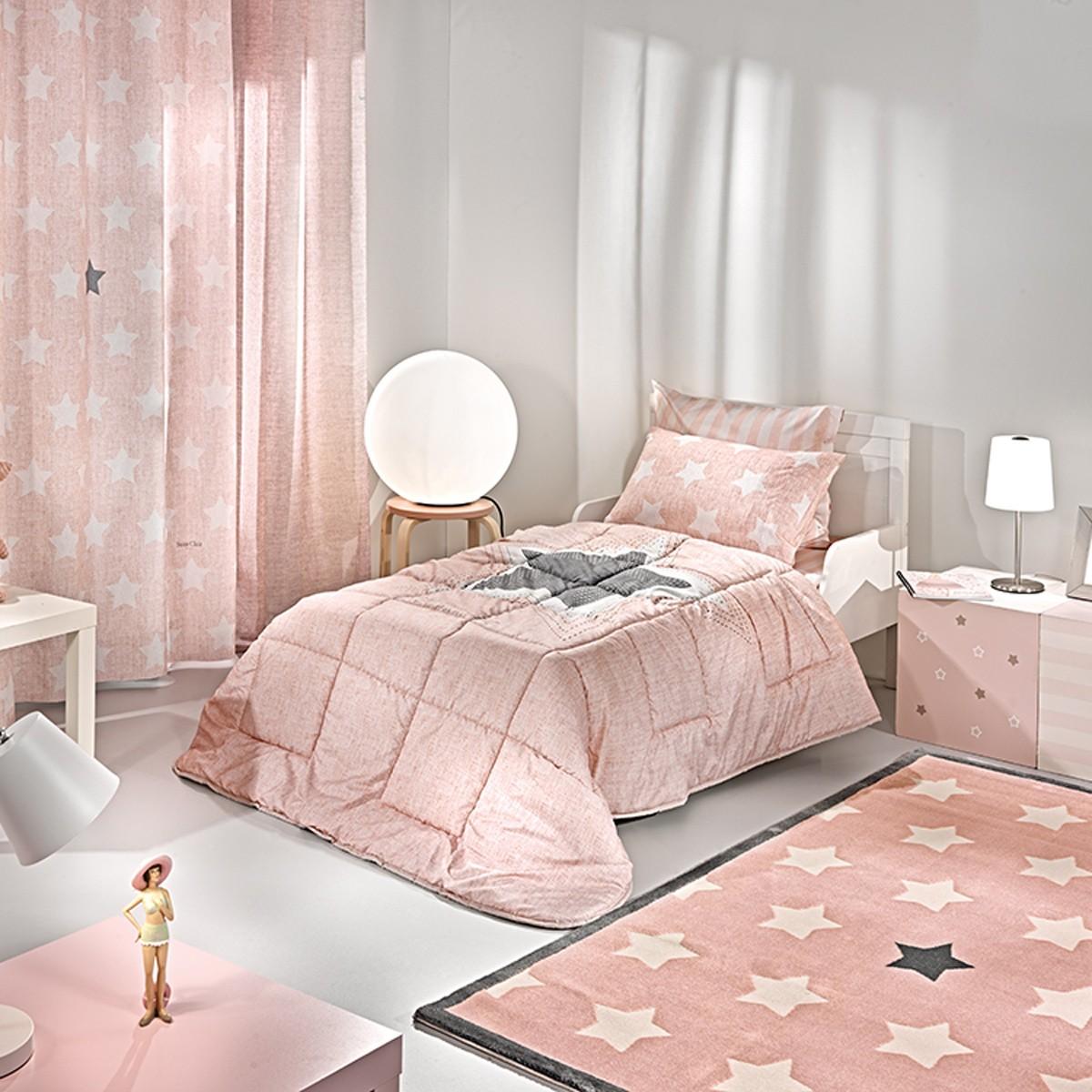 Παπλωματοθήκη Μονή Saint Clair Pirineo Pink