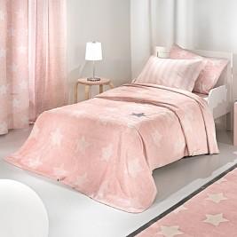 Κουβέρτα Fleece Μονή Saint Clair Ultra Soft Pirineo Pink