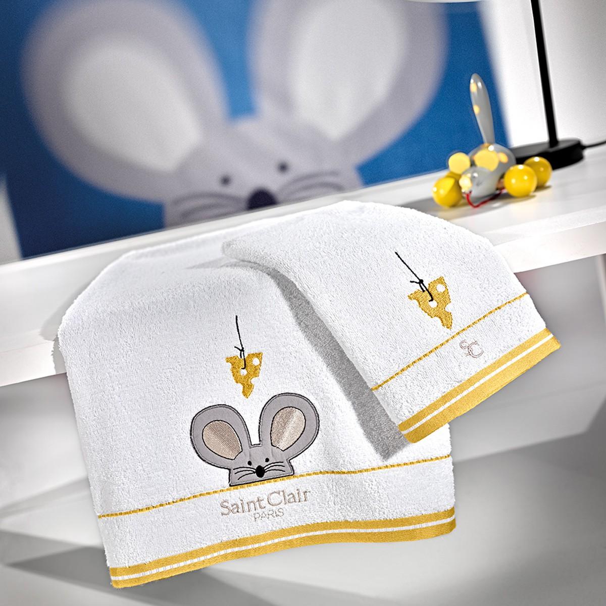 Παιδικές Πετσέτες (Σετ 2τμχ) Saint Clair Mouse