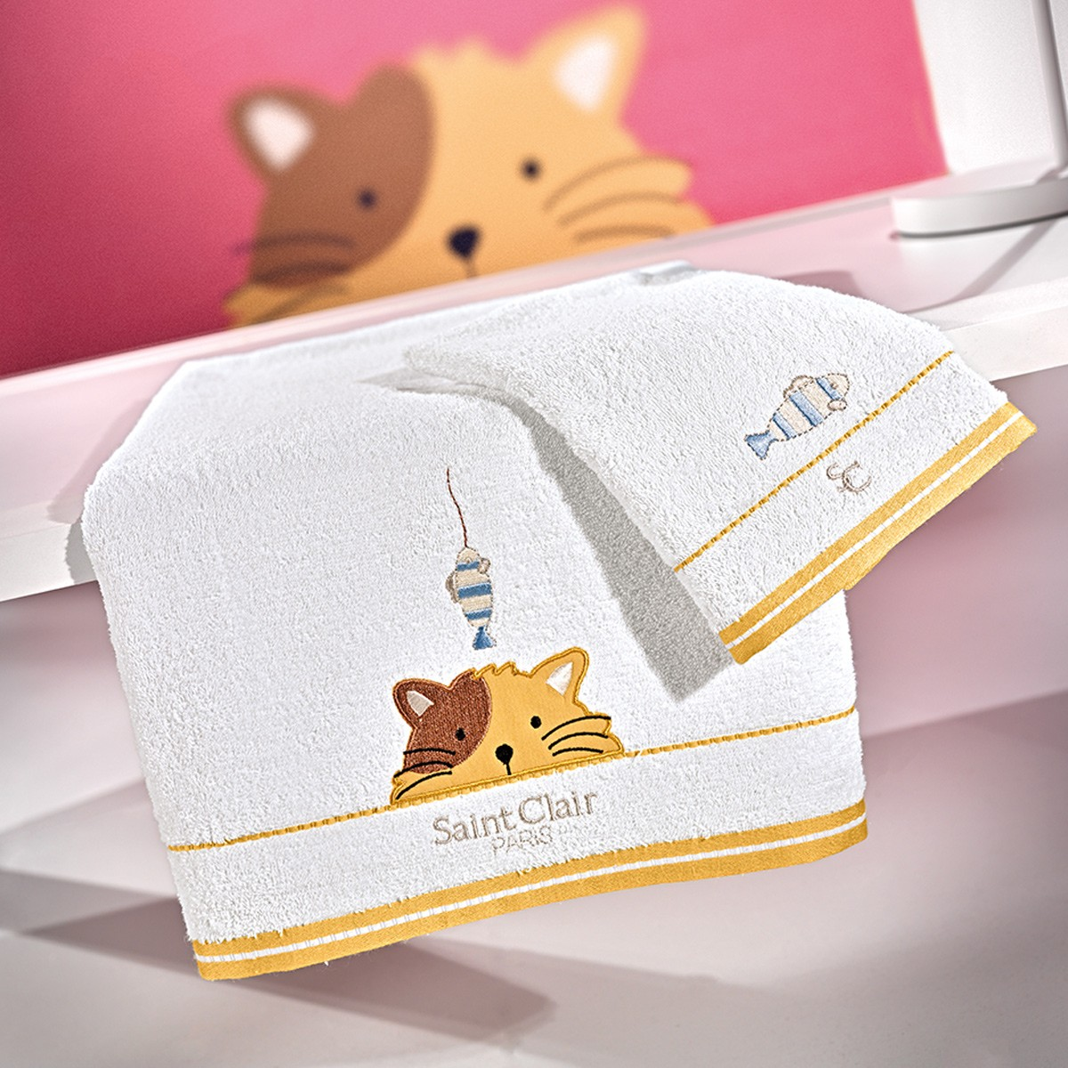 Παιδικές Πετσέτες (Σετ) Saint Clair Idea
