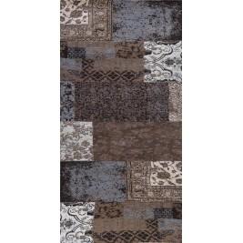 Χαλιά Κρεβατοκάμαρας (Σετ 3τμχ) Palamaiki Patchwork Anthracite
