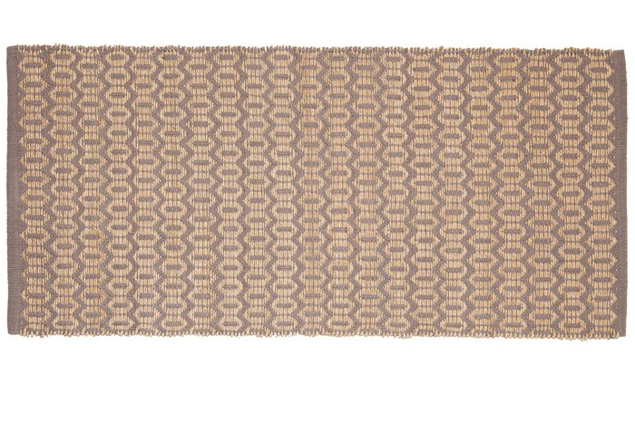 Χαλάκι Κουζίνας (60×130) Palamaiki Kitchen Carpets Nora Grey 60182