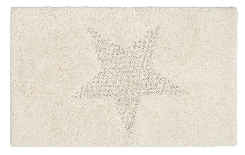 Πατάκι Μπάνιου (60x90) Palamaiki Bathmats Star Ecru