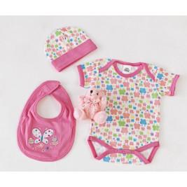 Βρεφικά Ρουχαλάκια (Σετ) Palamaiki New Baby 0105 Pink