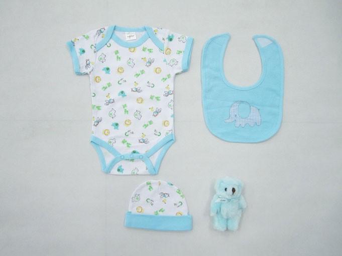 Βρεφικά Ρουχαλάκια (Σετ) Palamaiki New Baby 0105 Blue