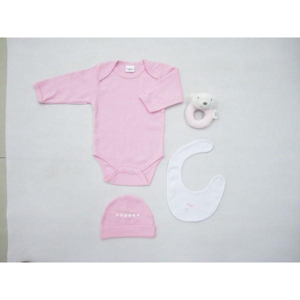 Βρεφικά Ρουχαλάκια (Σετ) Palamaiki NB0100 Pink