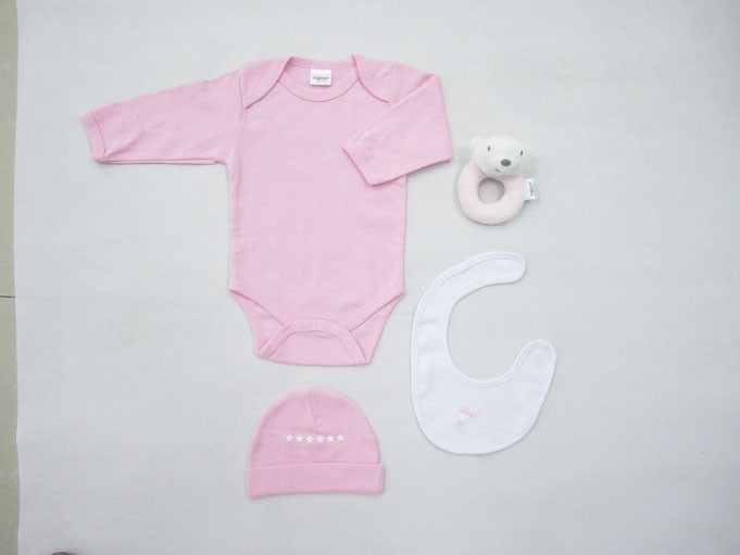 f8868a274d Βρεφικά Ρουχαλάκια (Σετ) Palamaiki New Baby 0100 Pink 60196