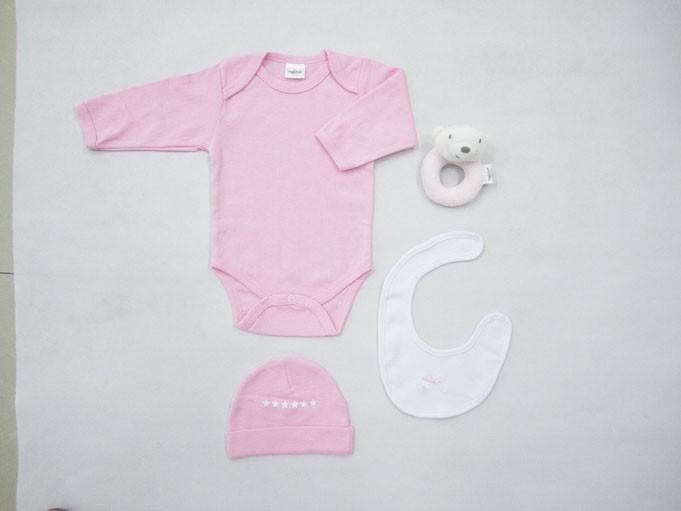 Βρεφικά Ρουχαλάκια (Σετ) Palamaiki New Baby 0100 Pink