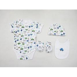 Βρεφικά Ρουχαλάκια (Σετ) Palamaiki New Baby 0101 Blue