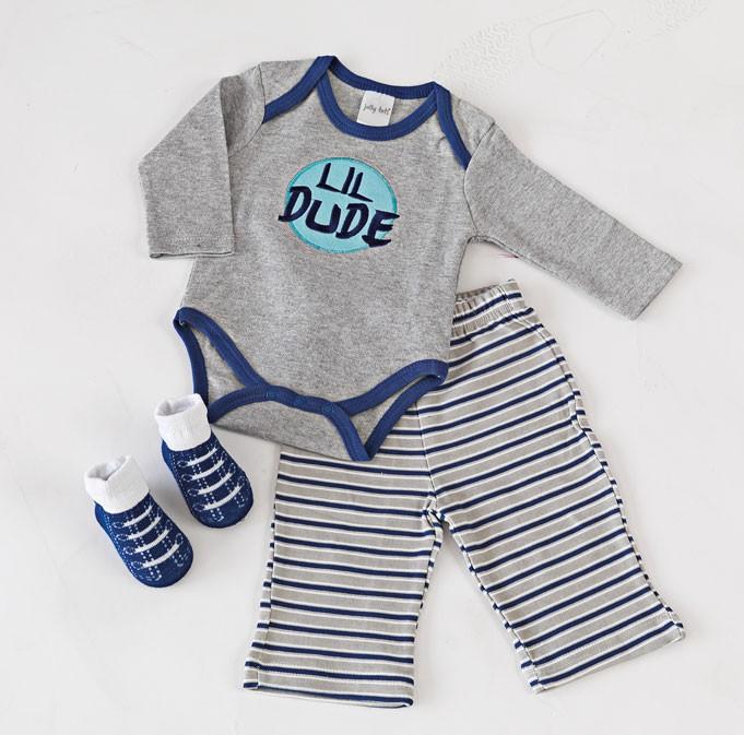 Βρεφικά Ρουχαλάκια (Σετ) Palamaiki New Baby 0104 Blue