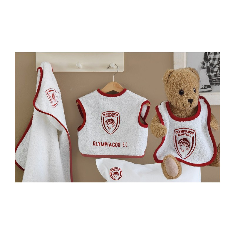 Βρεφικό Σετ Λουτρού Palamaiki Baby Team Olympiacos