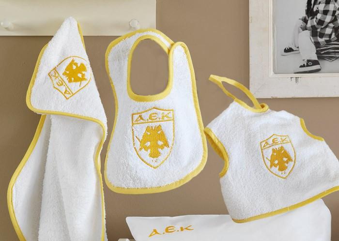 Βρεφικό Σετ Λουτρού Palamaiki Baby Team AEK 60215 f48cacea6ee