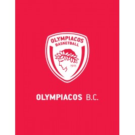 Κουβέρτα Fleece Υπέρδιπλη Palamaiki Olympiacos BC 1925