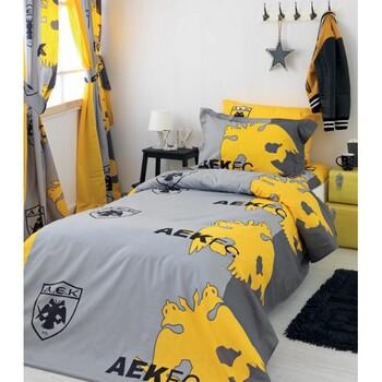 Παπλωματοθήκη Μονή (Σετ) Palamaiki AEK FC/2