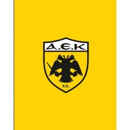 Κουβέρτα Fleece Υπέρδιπλη Palamaiki FC AEK