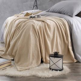 Κουβέρτα Fleece Μονή Rythmos Sonic