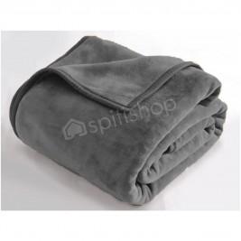 Κουβέρτα Βελουτέ Υπέρδιπλη Rythmos Charlize 09 D.Grey