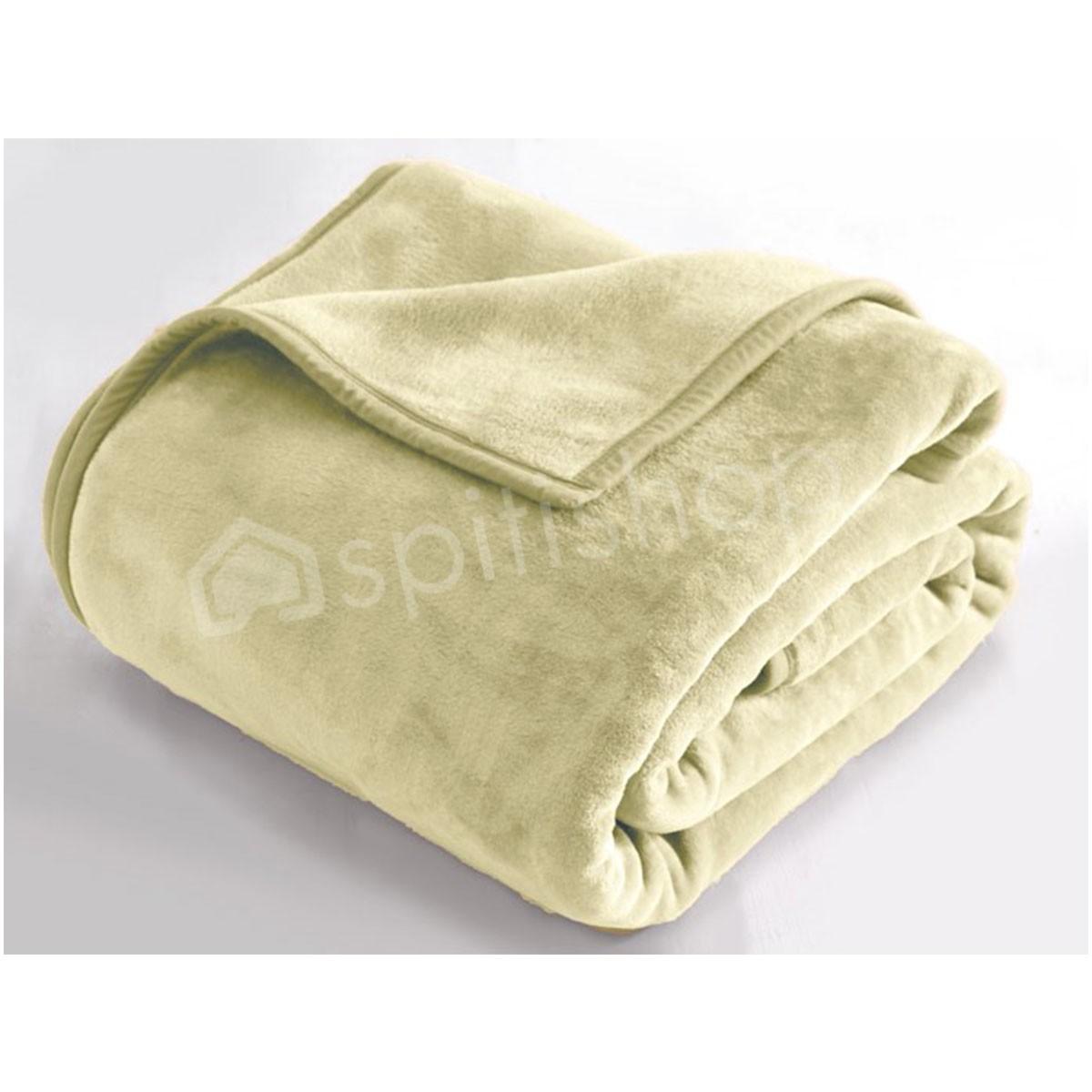 Κουβέρτα Βελουτέ Μονή Rythmos Charlize 07 Mint
