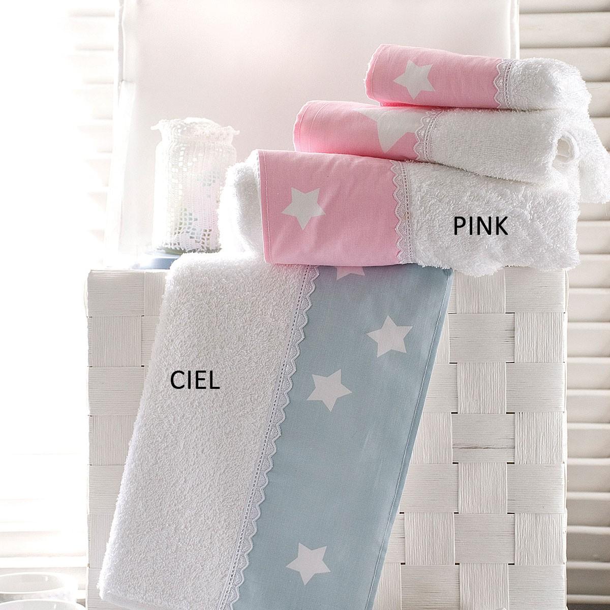Πετσέτες Μπάνιου (Σετ 3τμχ) Rythmos Bathroom Stardust