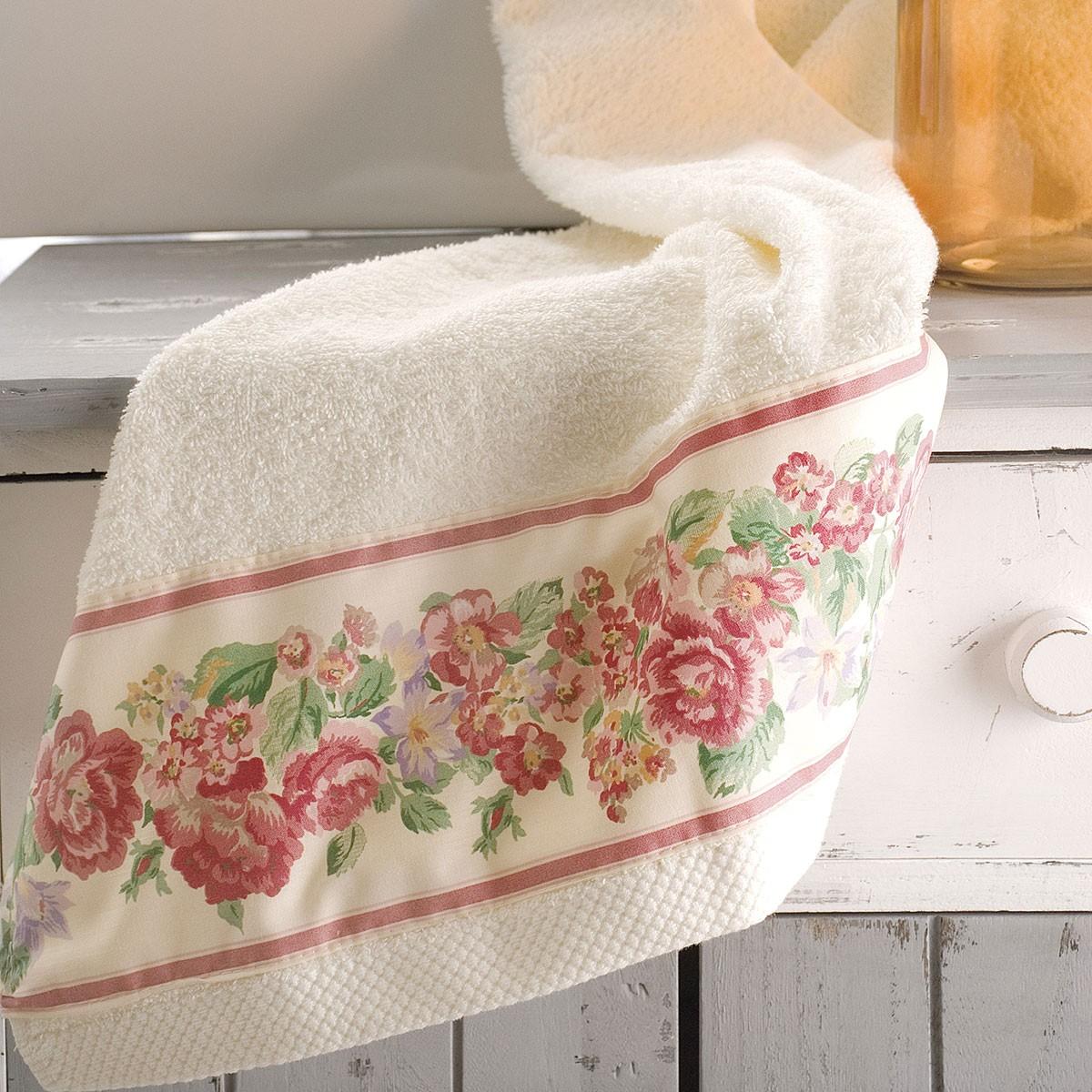 Πετσέτες Μπάνιου (Σετ 3τμχ) Rythmos Bathroom Veronica
