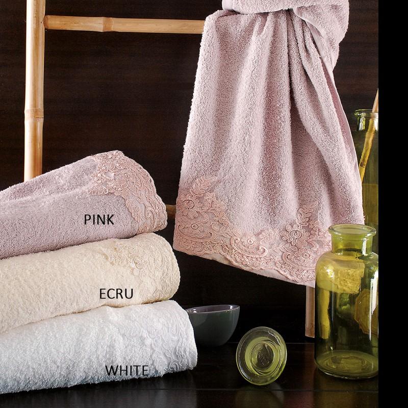 Πετσέτες Μπάνιου (Σετ 3τμχ) Rythmos Bathroom Talya
