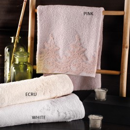 Πετσέτες Μπάνιου (Σετ 3τμχ) Rythmos Bathroom Rachel