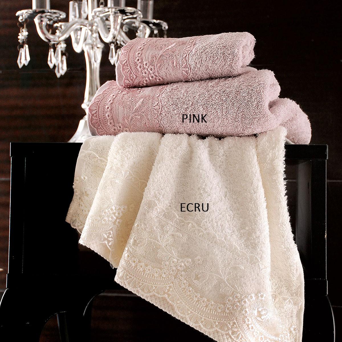 Πετσέτες Μπάνιου (Σετ 3τμχ) Rythmos Bathroom Alys