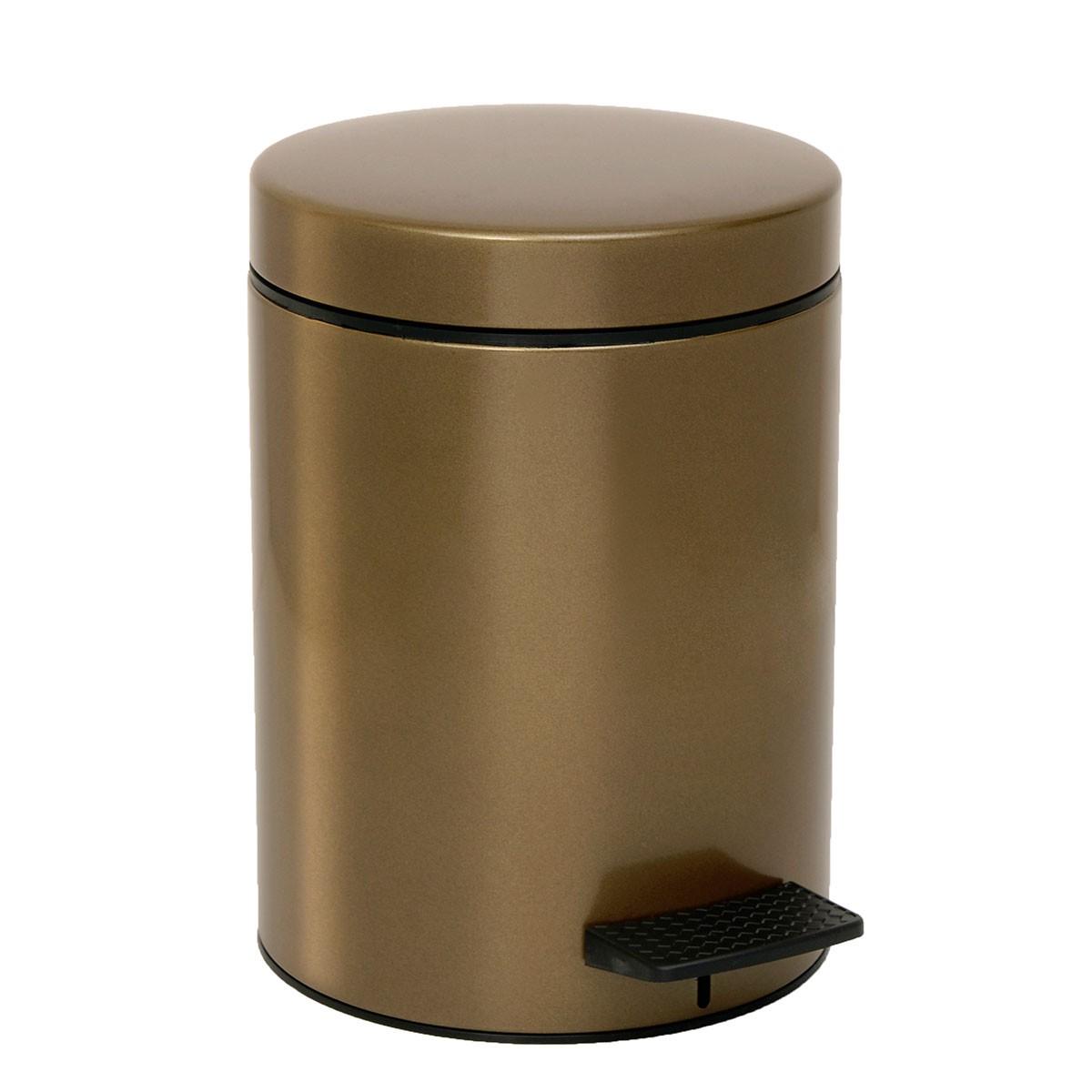 Κάδος Απορριμάτων (20×28) PamCo 5Lit 05-096-963 Oil/Gold