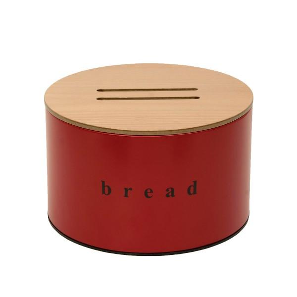 Ψωμιέρα Pam & Co 09-2518-503 Red Matte