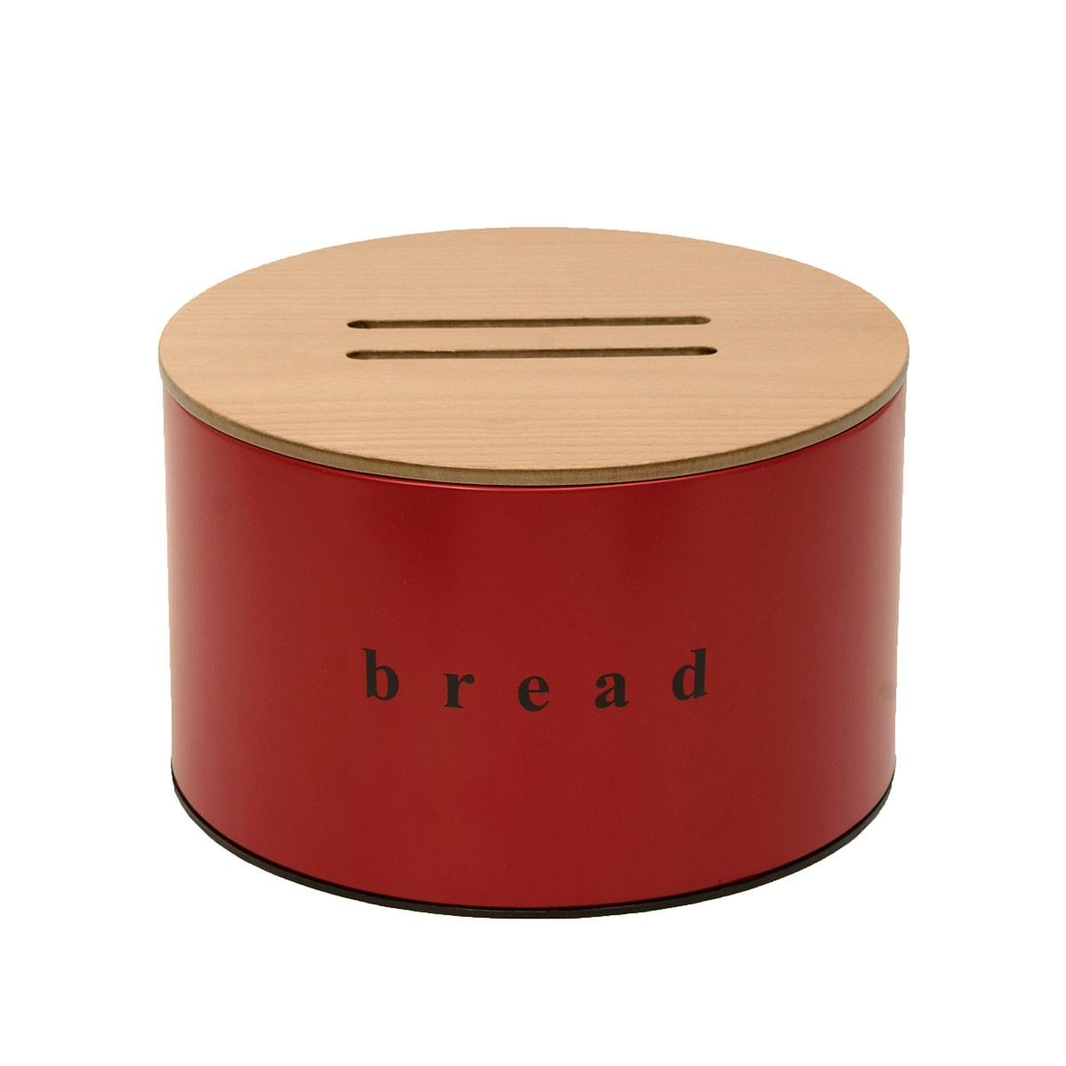 Ψωμιέρα PamCo 09-2518-503 Red Matte 60472
