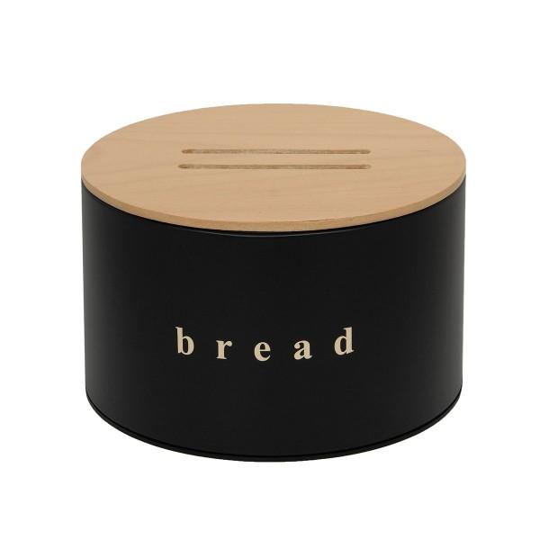 Ψωμιέρα Pam & Co 09-2518-403 Black Matte