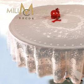 Τραπεζομάντηλο Ροτόντα Δαντέλα MC Decor 7620 Soft Pink