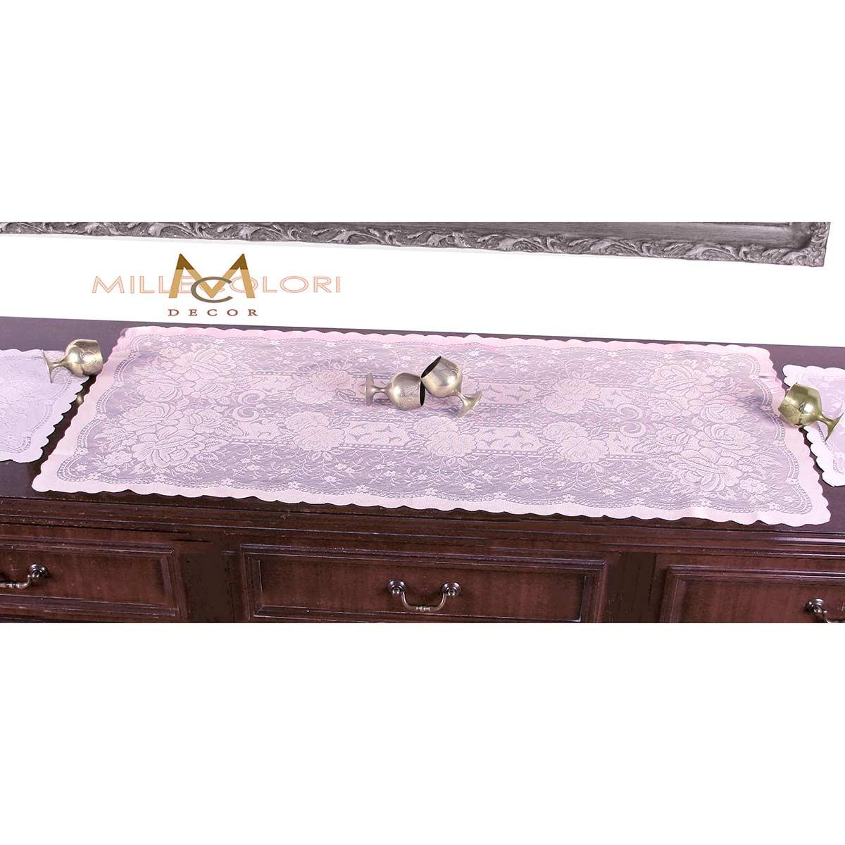 Σεμέν Δαντέλα (45×95) MC Decor 7620 Soft Pink