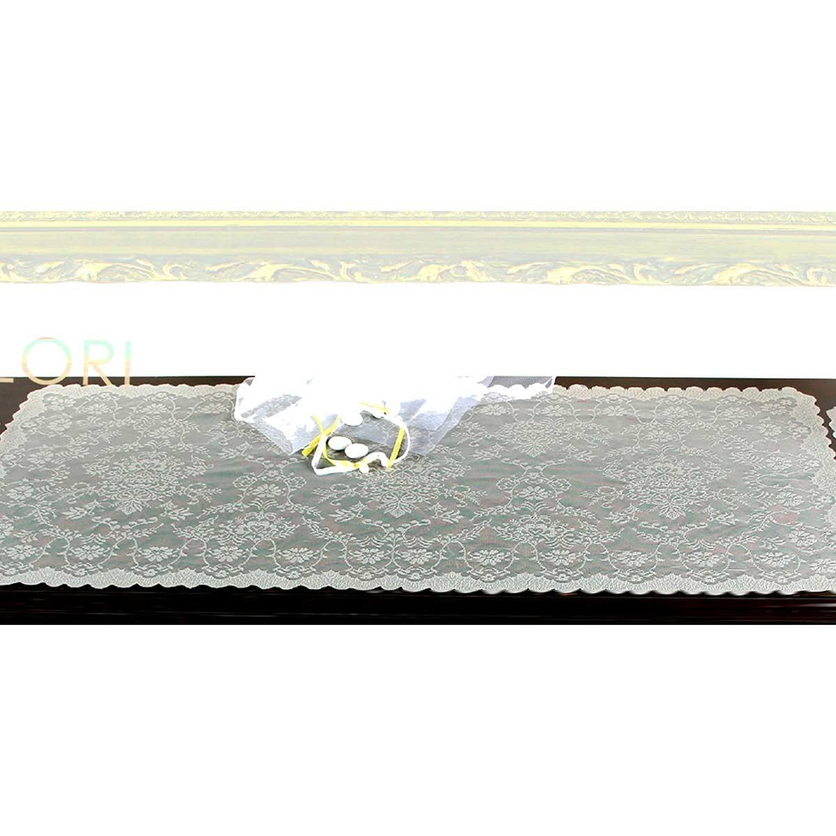 Σεμέν Δαντέλα (45×95) MC Decor 7621 Cappuccino