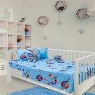 Σεντόνια Κούνιας (Σετ) Das Home Dream Prints 6345