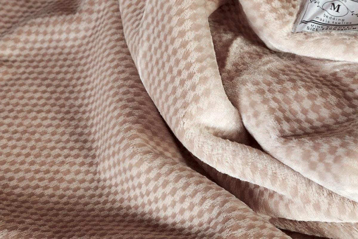 Κουβέρτα Βελουτέ Υπέρδιπλη Makis Tselios Soft 1