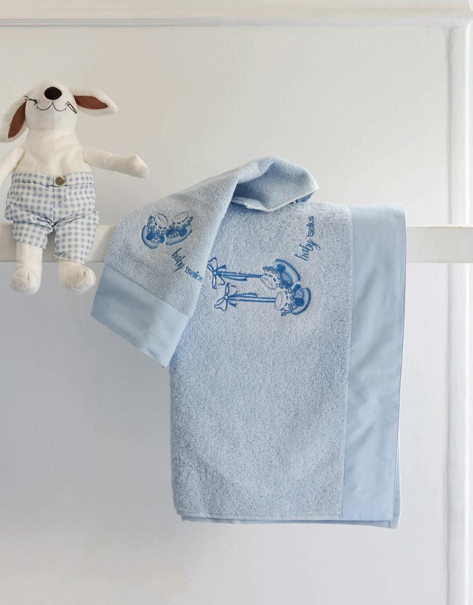 Βρεφικές Πετσέτες (Σετ 2τμχ) Makis Tselios Sonson Blue