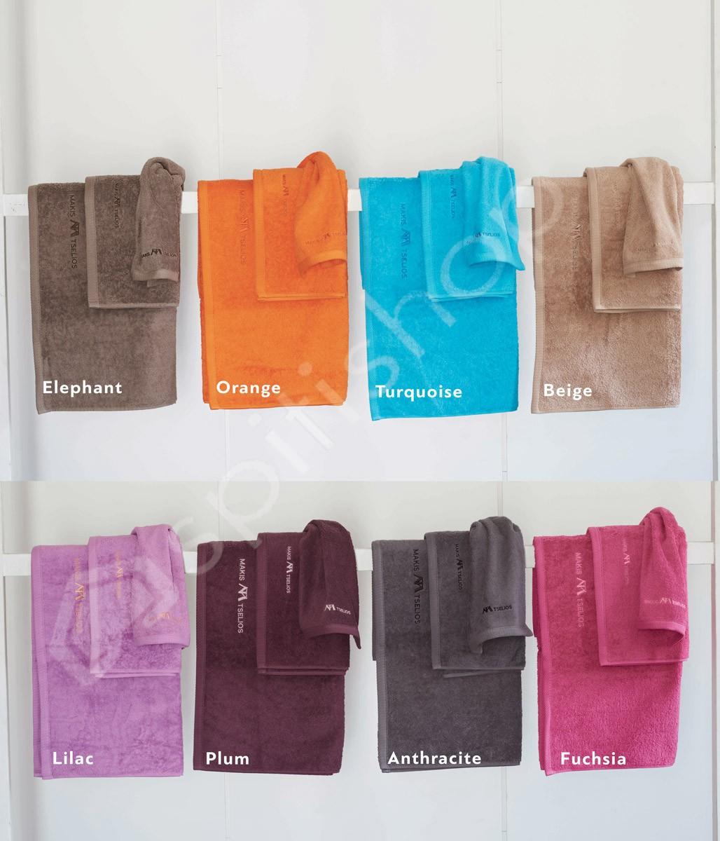 Πετσέτες Μπάνιου (Σετ 3τμχ) Makis Tselios Brand