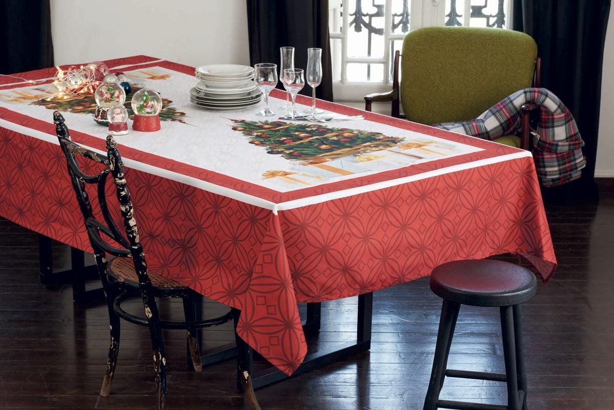 Χριστουγεννιάτικο Τραπεζομάντηλο (140x180) Makis Tselios Regalo
