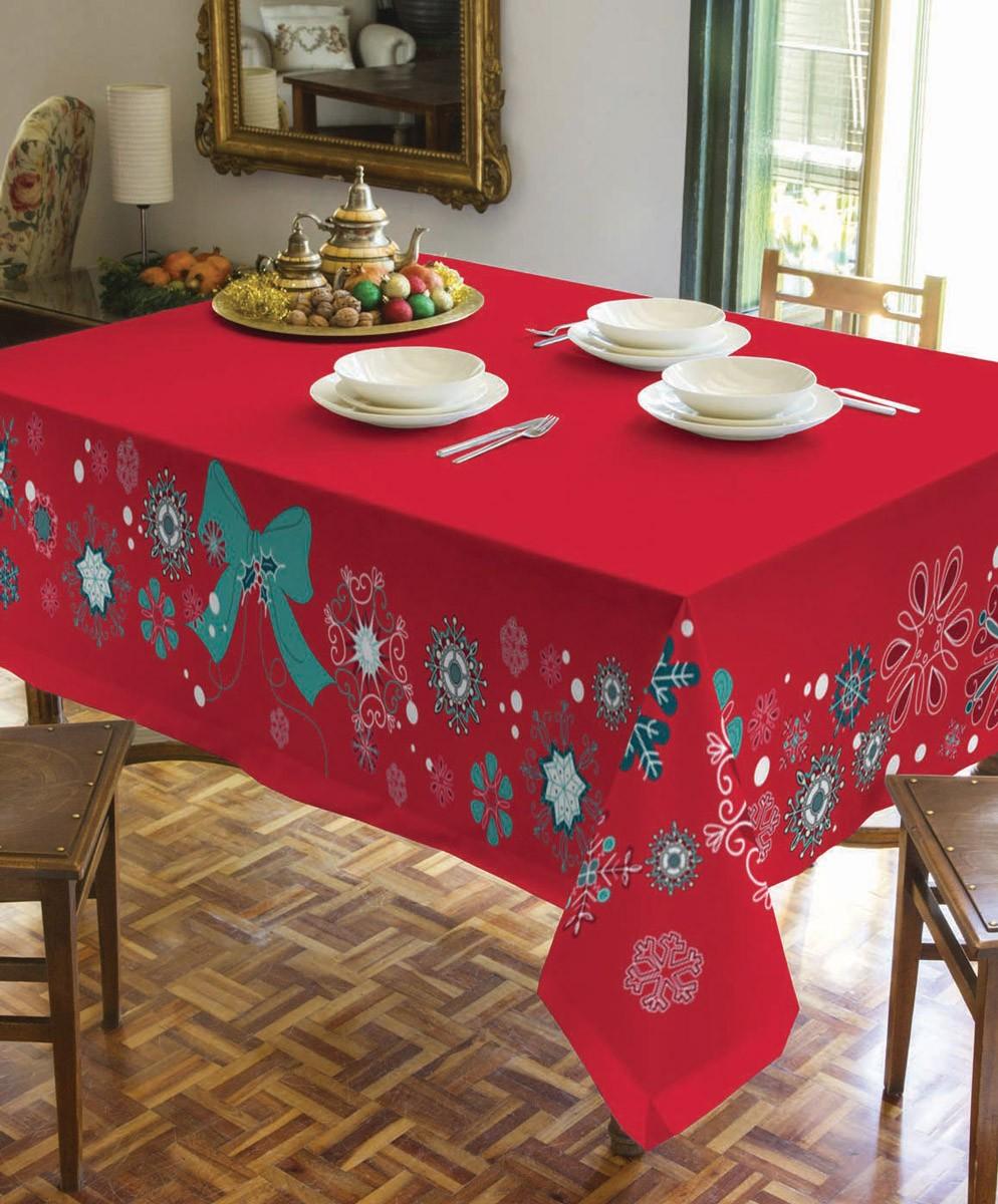 Χριστουγεννιάτικο Τραπεζομάντηλο (140x180) Makis Tselios Fiesta