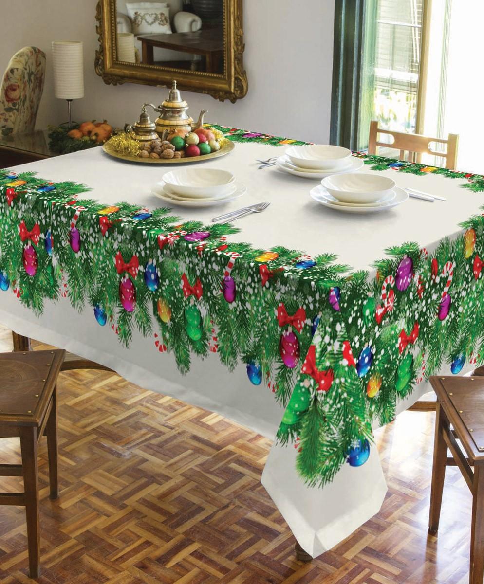 Χριστουγεννιάτικο Τραπεζομάντηλο (140x180) Makis Tselios Year