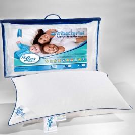 Μαξιλάρι Ύπνου Αντιαλλεργικό La Luna Antibacterial Medium