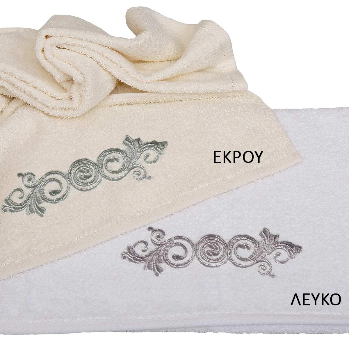 Πετσέτες Μπάνιου (Σετ 3τμχ) Viopros Applique Σχ26