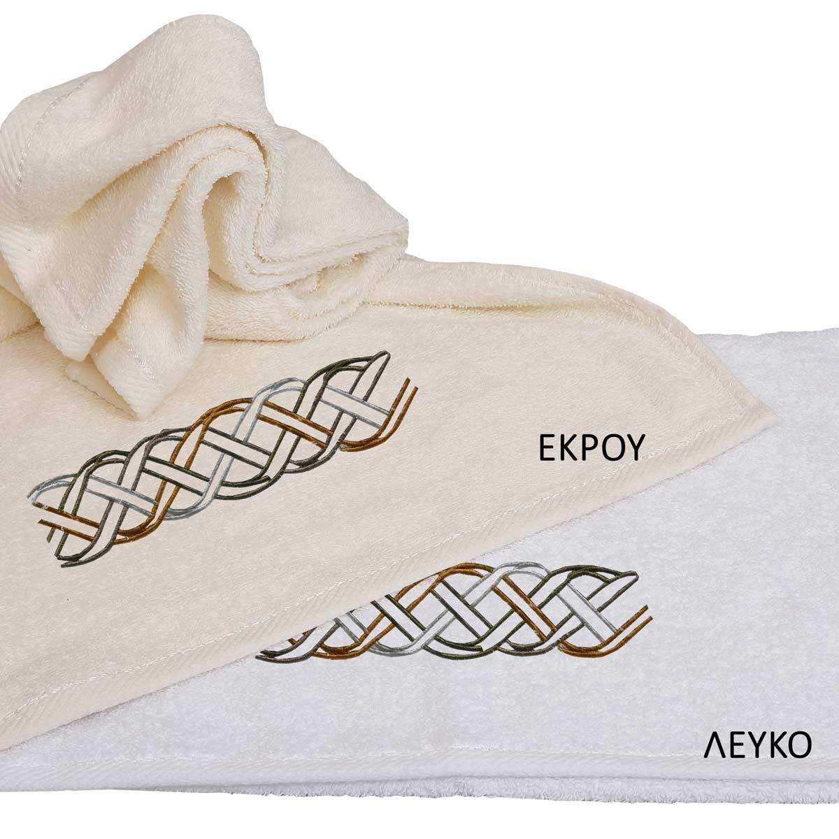Πετσέτες Μπάνιου (Σετ 3τμχ) Viopros Applique Σχ27